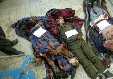 یمن 2 - جنایت هولناک متجاوزان سعودی در صعده/ حمله به بس حامل متعلمان