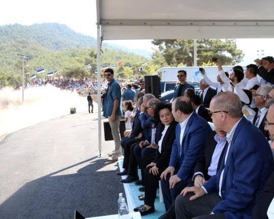اردوغان3 - تصاویر/ رییس جمهور ترکیه در مسابقات رالی