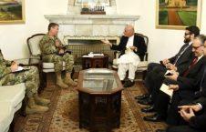 اشرف غنی سکاتمیلر 226x145 - دیدار رییسجمهور غنی با قوماندان جدید مأموریت حمایت قاطع در افغانستان