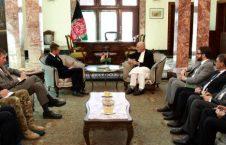 اشرف غنی گوین ویلیامسون 226x145 - دیدار رییس جمهور غنی با وزیر دفاع بریتانیا
