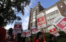 اعتصاب معلمان 2 226x145 - تصاویر/ اعتصاب معلمان در واشینگتن