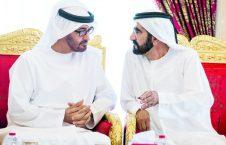 زاید بن راشد 226x145 - اختلاف بن زاید و بن راشد؛ بحث داغ اماراتی ها!