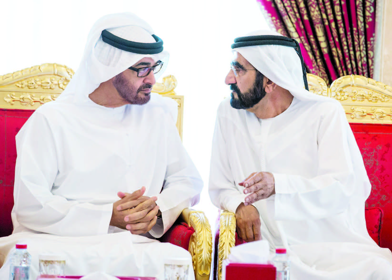 زاید بن راشد - اختلاف بن زاید و بن راشد؛ بحث داغ اماراتی ها!
