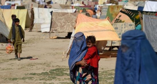 بیجاشده 550x295 - مساعدت به هزاران خانواده بیجاشده در کابل