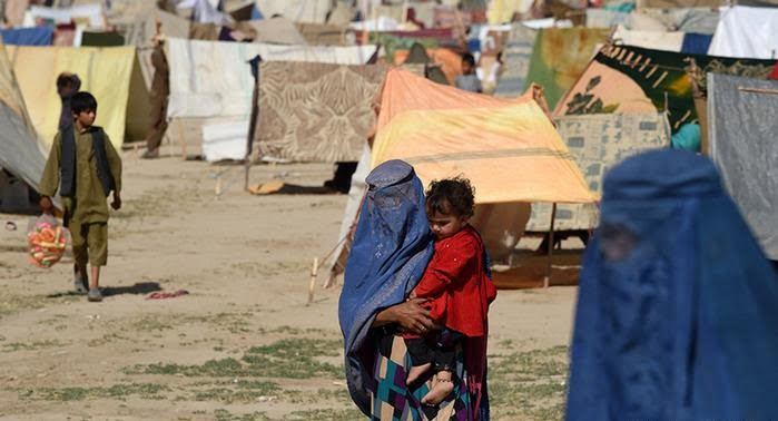 بیجاشده - بیجا شدن صدها خانواده در ولایت ننگرهار