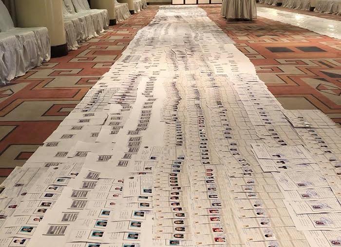 تذکره های جعلی - بررسی موضوع تذکره های جعلی روی میز لوی سارنوالی