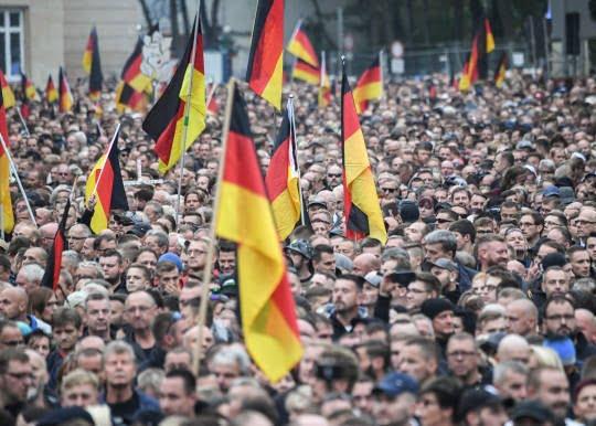 جرمنی2 - تصاویر/ تظاهرات ضد مهاجرتی در جرمنی