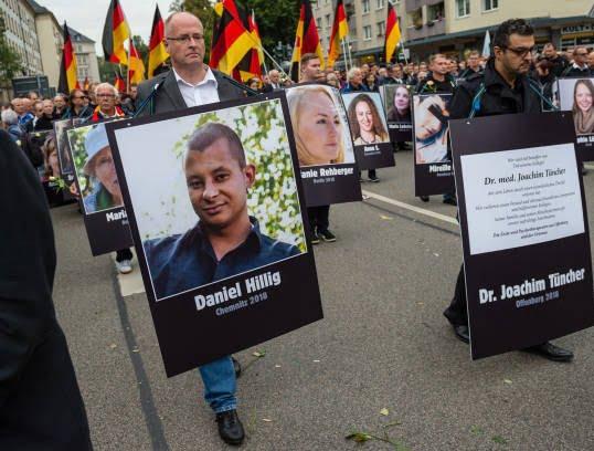 جرمنی4 - تصاویر/ تظاهرات ضد مهاجرتی در جرمنی