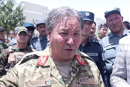 جنرال مراد علی مراد - درخواست جنرال مراد از تظاهرات کننده گان در کابل