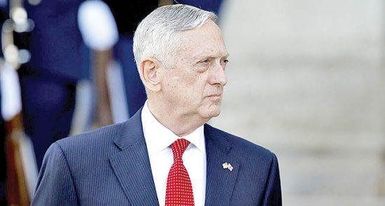 جیمز متیس 550x295 - وزیر دفاع امریکا چارهای جز استعفا نداشت!