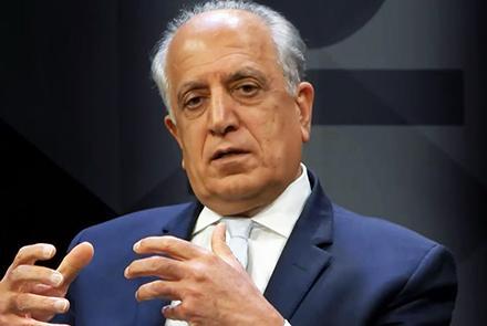 خلیل زاد 1 - نماینده خاص امریکا وارد پاکستان شد