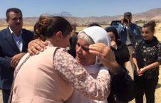 ایزدی 226x145 - دختر جوانی که از چنگال داعش آزاد شد!
