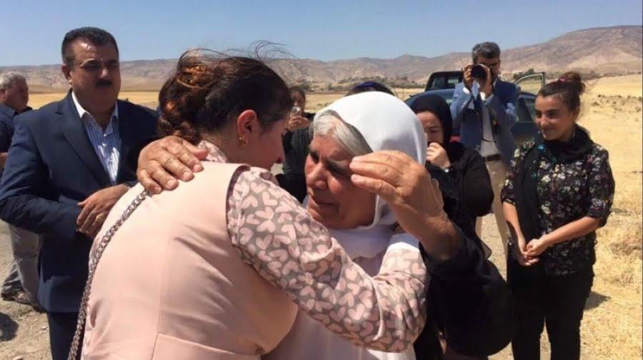 ایزدی - دختر جوانی که از چنگال داعش آزاد شد!