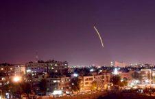 دمشق1 226x145 - تصاویر/ حمله راکتی اسراییل به میدان هوایی دمشق