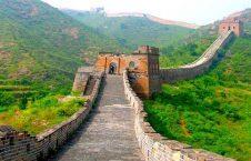 دیوار چین 226x145 - تصویر/ نمایی زیبا از دیوار چین
