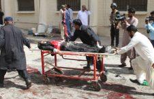 زخمی 226x145 - افزایش آمار جان باختگان حمله انتحاری روز گذشته در ننگرهار