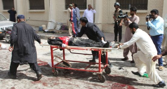 زخمی 550x295 - وقوع یک انفجار در مربوطات حوزۀ ششم شهر کابل