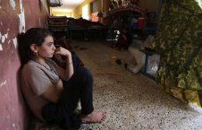 زنان ایزدی 226x145 - عکس های بی شرمانه قاضی داعشی با زنان اسیر
