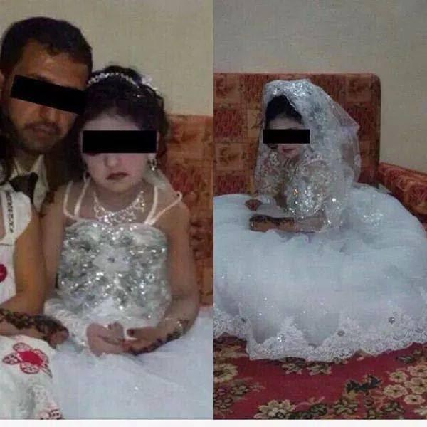 داعش - دختر ۸ ساله ای که عروس داعش شد!