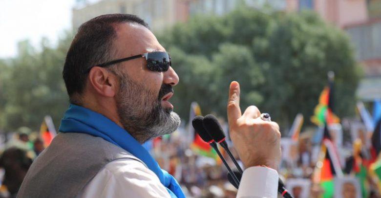 عطامحمد نور - عطا محمد نور بازهم ارگ را تهدید کرد