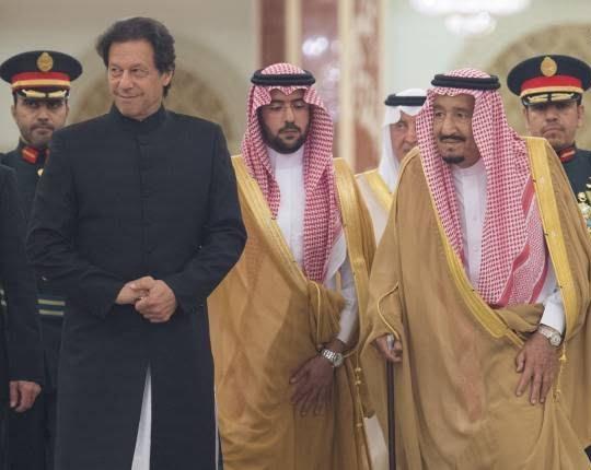 عمران خان 2 - تصاویر/ دیدار عمران خان با ملک سلمان