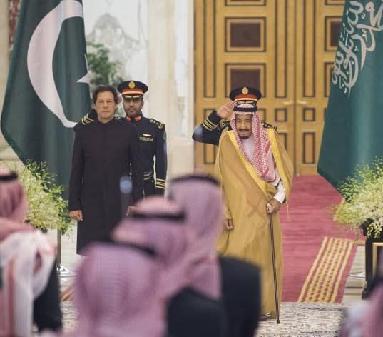 عمران خان 3 - تصاویر/ دیدار عمران خان با ملک سلمان