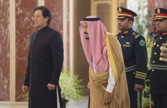 عمران خان 4 - تصاویر/ دیدار عمران خان با ملک سلمان