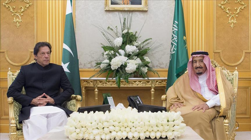 عمران خان 5 - تصاویر/ دیدار عمران خان با ملک سلمان