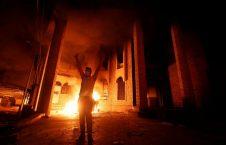 ایران در بصره 226x145 - قونسولگری ایران در بصره آتش زده شد