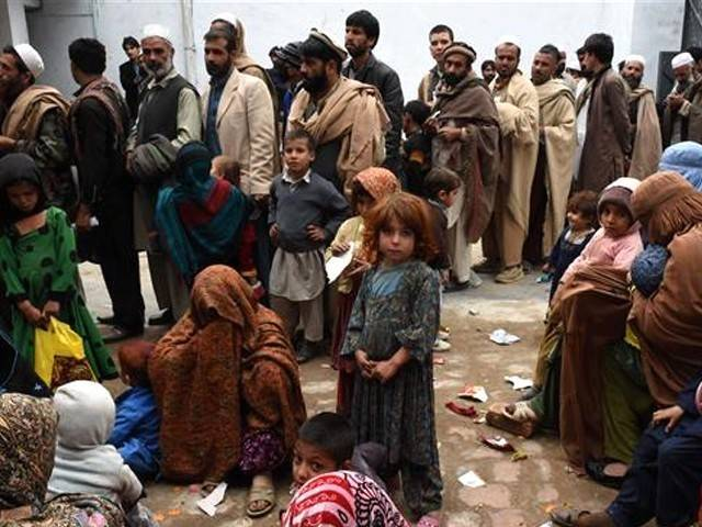 مهاجران افغان - وضع محدودیت برای ورود باشنده گان افغان به پاکستان