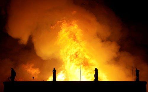 موزیم ملی برازیل1 - تصاویر/ آتشسوزی در موزیم ملی برازیل