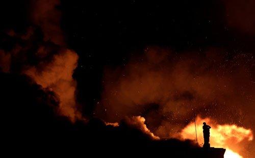 موزیم ملی برازیل6 - تصاویر/ آتشسوزی در موزیم ملی برازیل