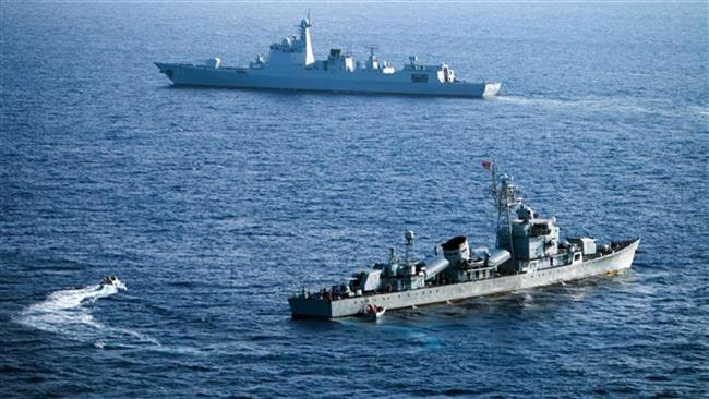 ناو امریکا - هشدار پکن نسبت به حضور ناوهای امریکایی در بحر جنوبی چین