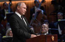ولادیمیر پوتین 3 226x145 - تصاویر/ حضور رییس جمهور روسیه در سالون کنسرت