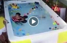 ویدیو مادر چین طفل غرق 18 226x145 - ویدیو/ مادر چینایی طفل یک ساله اش را غرق کرد! (18+)
