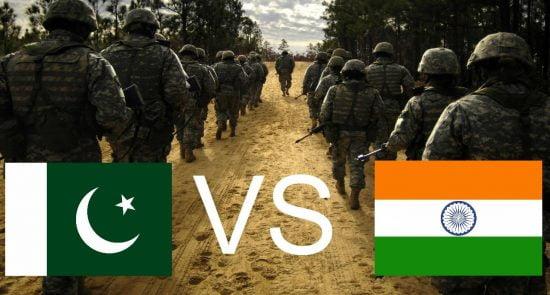 پاکستان هند 550x295 - نقشه هند برای به چالش کشیدن امنیت پاکستان