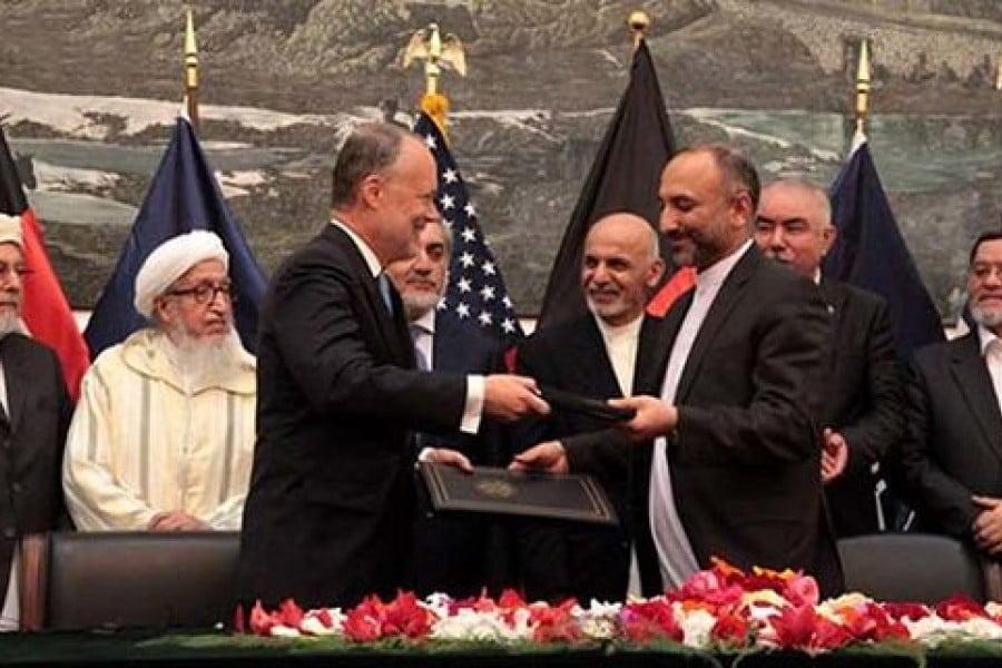 پیمان امنیتی - امریکا برای حفظ پیمان امنیتی اش با کابل به تکاپو افتاد!