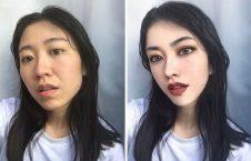 چینایی1 226x145 - چهره واقعی دختران زیبای چینایی را ببینید + تصاویر