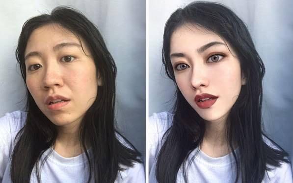 چینایی1 - چهره واقعی دختران زیبای چینایی را ببینید + تصاویر