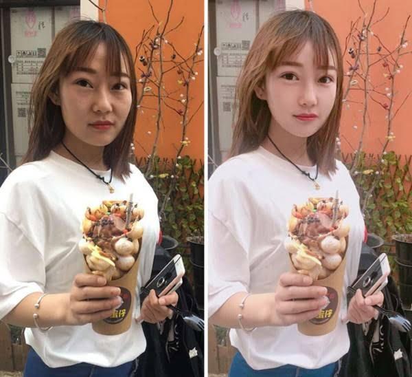 چینایی2 - چهره واقعی دختران زیبای چینایی را ببینید + تصاویر