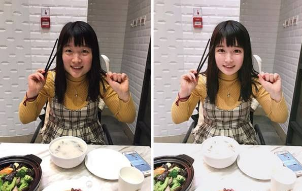 چینایی5 - چهره واقعی دختران زیبای چینایی را ببینید + تصاویر