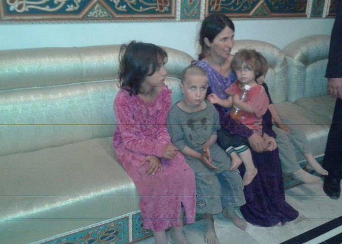 اسیر داعش 3 - زنانی که از بند داعش رها شدند + تصاویر