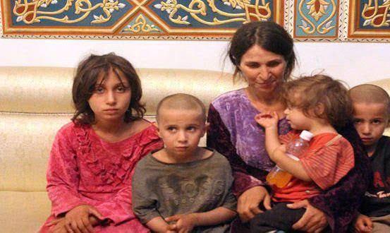اسیر داعش 4 - زنانی که از بند داعش رها شدند + تصاویر