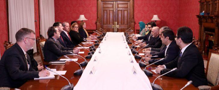 اشرف غنی پاول رایان - دیدار رییس جمهور غنی با رییس کانگرس امریکا