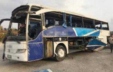 بس 2 226x145 - تصاویر/ واژگون شدن یک موتر بس در ترکیه