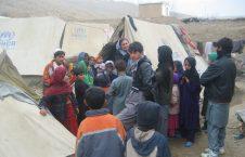 بیجا شده 226x145 - آمار تکان دهنده بیجا شده گان جنگ در افغانستان