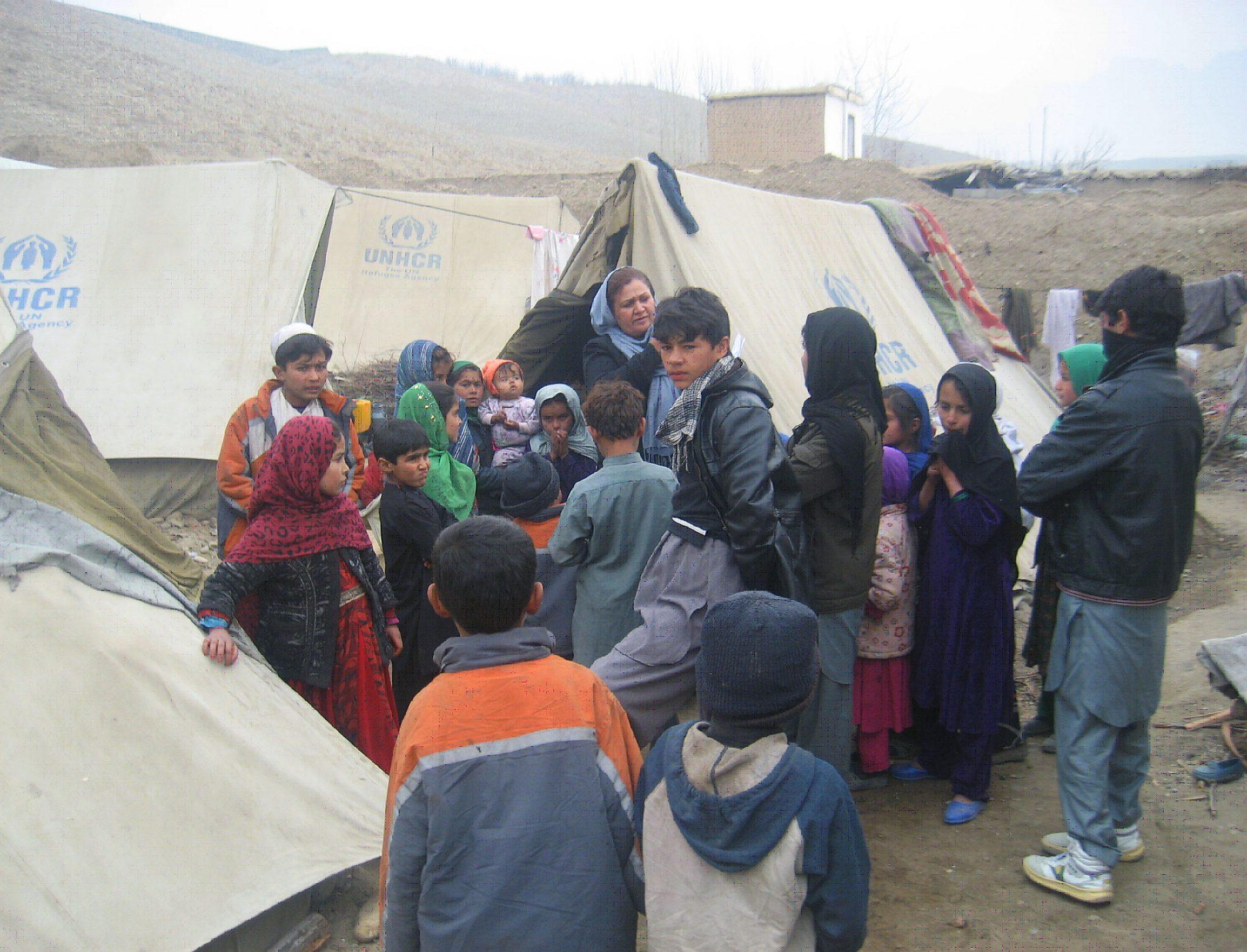 بیجا شده - توزیع کمک های نقدی برای ۴۰۰ خانواده بیجا شده در ولایت جوزجان