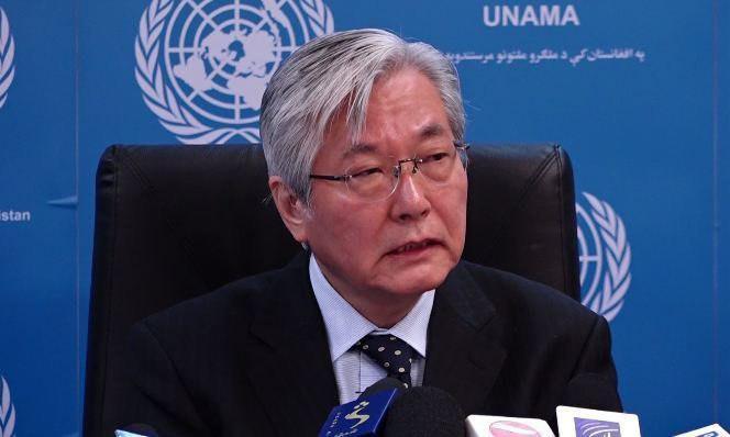 تدامیچی یاماموتو - تاکید نماینده سازمان ملل بر اشتراک طالبان در گفتگوهای بین الافغانی