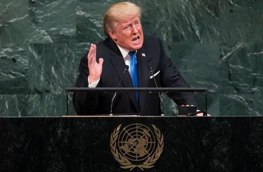ترمپ - جنگ طلبی در عرصه جهانی