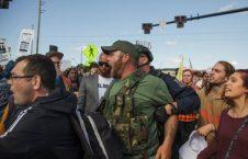 امریکا3 226x145 - تصاویر/ درگیری مظاهره کننده گان امریکایی با پولیس